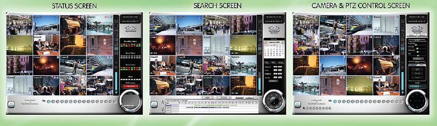 Eyemax H9240 Based IP Hybrid DVR screen shot