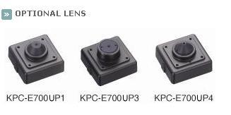 KTnC KPC-E700NU Color Miniature Camera 700 TVL SONY Effio 30mm x 30mm optional lens
