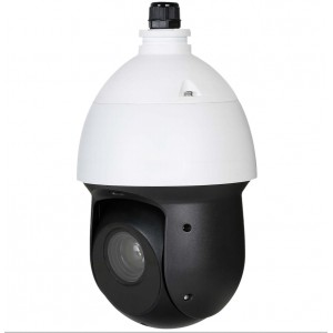 Eyemax 1080P H.265 IR PTZ Network Camera with Starlight / 25x Optical Zoom / True WDR / IP66 / IVS / PoE+ Wall mount