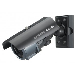 CNB BE3815NVR CNB Weatherproof Day/Night IR Bullet Camera 550TV Lines Varifocal Lens Dual Power