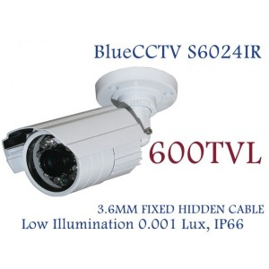 Bluecctv 600TVL Weather Proof IR Night Vision Camera