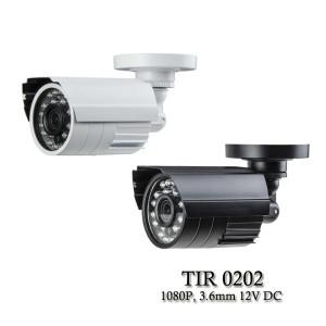 Eyemax TIR-0202 HD-TVI 1080P Outdoor Bullet Camera, 3.6mm, 12V DC