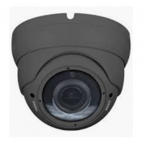 X Series HD 2.4MP Eyeball Vari-focal Turret Camera 2.8-12mm Dual Video Outputs (Supports All video Signal) Grey