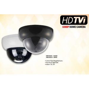 Eyemax Superdome Series Indoor Dome HD-TVI Camera TDM-202 1080P, 3.6mm 12V DC Black or White Casing