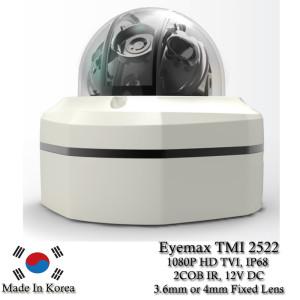 Eyemax Hammer Series TMI 2522 1080P HD-TVI Vandal DOME IR Camera 3.6mm 12V DC