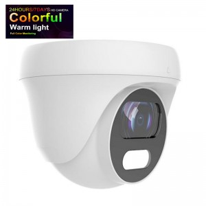 Full Color Night View Turret Dome HD camera 2.8mm Fixed Lens 1080P to 5MP Changeable