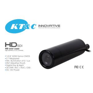 KTnC KPC-HDB230M HD-SDI bullet camera Full 1080p 2 Megapixel, 3.7mm lens, Sony CMOS, OSD joystick