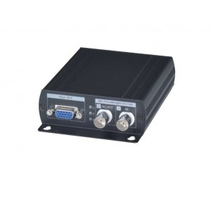 HD CCTV HD AHD, HD TVI, HD CVI to HDMI, VGA, BNC, Video Converter Supports PIP, Loop Out