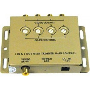 1-In-4 out Video Amplifier