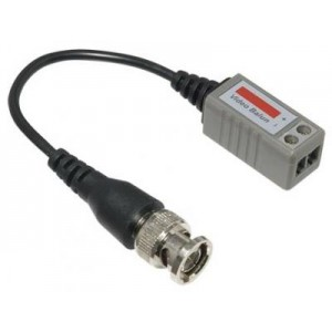 CCTV Video Balun Transmit Signal with Cat5 Cables ( Cat5 to BNC Converter ) With Wire