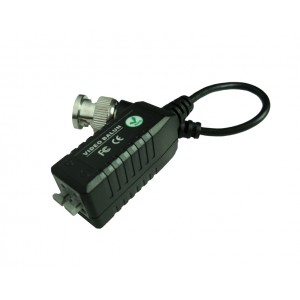 Anolog HD TVI AHD CVI Video balun cat5 to bnc high quality converter with wire press in terminal