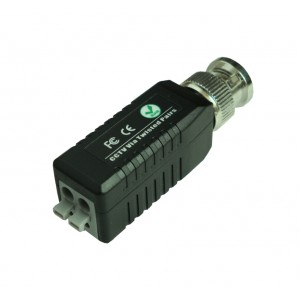 Anolog HD TVI AHD CVI Video balun cat5 to bnc high quality converter press in terminal