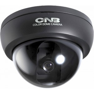 CNB D1000 Series D1710N High resolution 480TVL Indoor CCTV dome camera 3 Axis