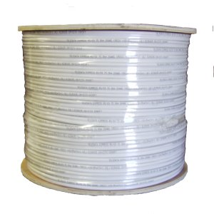 High Quality 1000FT 95% Shielding Outdoor UV Siamese/Combo Cable, RG59 COAX and power cable, Split Type ETL