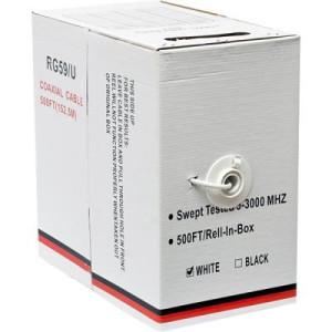 Coax RG-59 95% Shielding 500FT