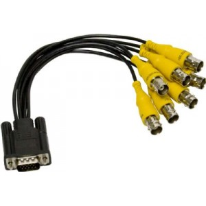 8 VIDEOS DVR PIGTAIL FOR EYEMAX CARDS