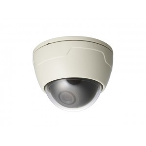 KTnC KPC-D570NHB Mini Vandal Dome Camera 550TVL 3.6mm Lens DC 12V Flush or Surface Type