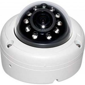 Eyemax IA-6010 Outdoor Dome IR Camera 620 TVL small IP 68case 10LED Surface and Flush Dual Mount