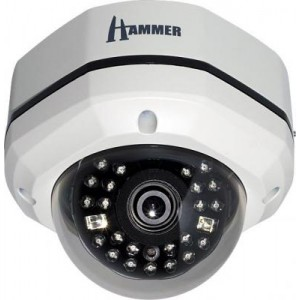 Eyemax IT 6025M Hammer Dome IR Camera 620TVL 25IR IP68 Waterproof