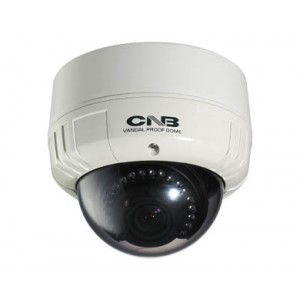 CNB V2815NVR Outdoor Dome Camera Intelligent IR 550TVL 20 Leds Vandal-Resitant ICR 3.8-9.5mm