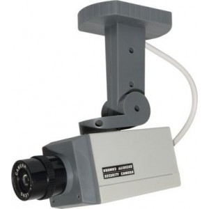 BOX CAMERA TYPE CCTV DUMMY CAMERA, MOTORIZED PAN MOVEMENT