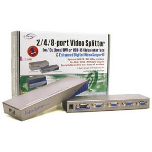 4port VGA Splitter with enhanced video