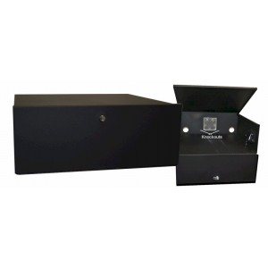 DVR Lock Box, Security Cabinet for VCR / DVR System with 120 volts Fan