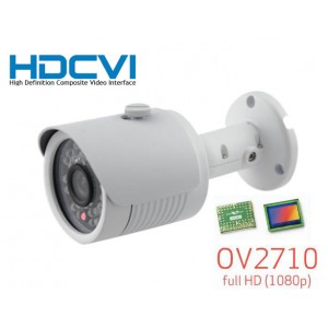 HD-CVI CCTV Outdoor Bullet IR Camera, HD 1080P Image 30 Leds 3.6mm