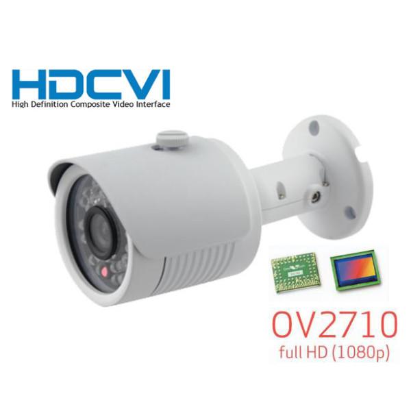 36 IR LED HD-CVI 1080p HD Outdoor Bullet Security Camera ICR Day//Night Gray