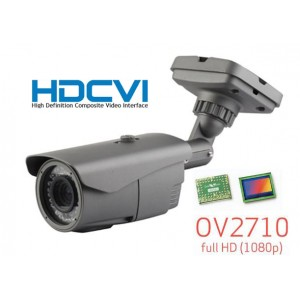 HD-CVI CCTV Outdoor Bullet IR Camera, HD 1080P Image 42 Leds 2.8-12mm
