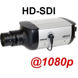 HD-SDI Box Camera: 2 Megapixel Full HD 1080p Image, 3D-DNR, WDR BL UH C204