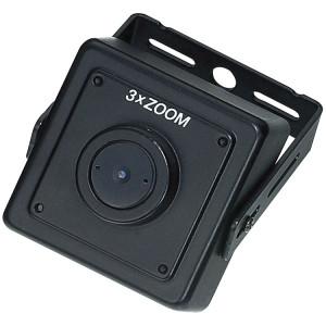 KPC-HD38MP4 HD-SDI square camera 2.1 Megapixel 1080p Image Pinhole