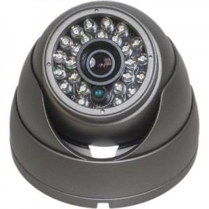 HD-SDI Outdoor Turret Dome IR camera: 2 Megapixel Full HD 1080p image, 4.3mm Fixed Lens, 25 IR LED