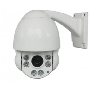 "HD-TVI CCTV Outdoor Night Vision Mini 4.5"" PTZ Camera 2.4MP 1080P HD Image 10X Optical Zoom Support UTC"