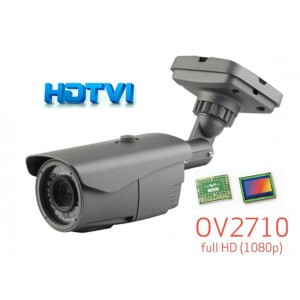 HD-TVI CCTV Outdoor Bullet IR Camera, HD 1080P Image 42 Leds 2.8-12mm