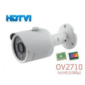HD-TVI CCTV Outdoor Bullet IR Camera, HD 1080P Image 30 Leds 3.6mm
