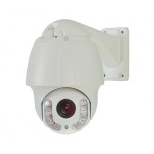 HD-TVI CCTV Outdoor Night Vision Mini PTZ Camera 2.4MP 1080P HD Image 18X Optical Zoom 12x Digital