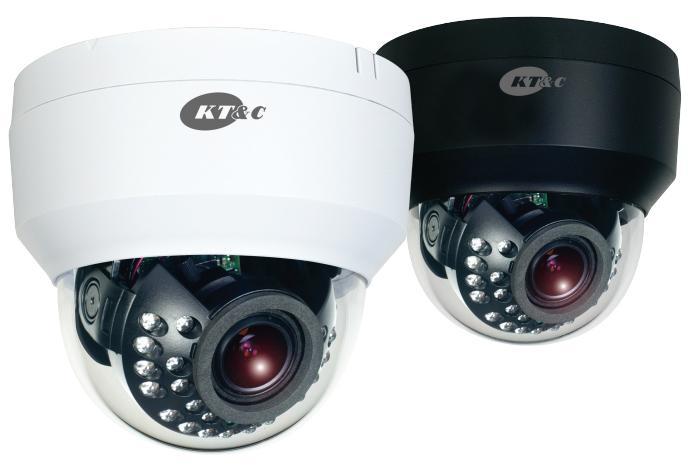 2.8-12mm KT/&C OMNI EZ HD-TVI Camera 1080p Outdoor Vandal Dome 24 IR Dual Power