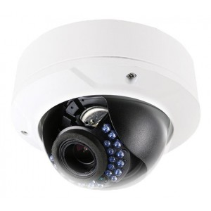LT series IR IP 4 Mega Pixel Vandal proof Camera POE Vari-focal Lens
