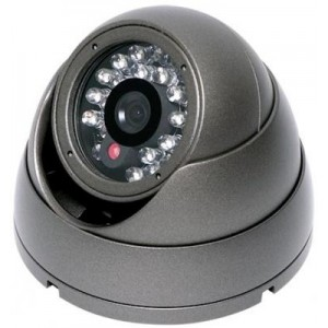 720P Megapixel HD Vandal Proof Network IR Dome Camera 3G Support
