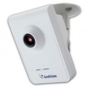 Geovision 2 Mega-Pixel IP Camera, H.264 Cube, Built-in Microphone and Speaker GV-CB220