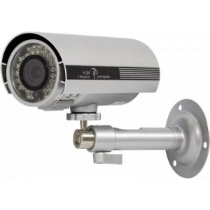 2MP IP Mega Pixel IR Bullet Camera H.264, Microphone, ICR True Day/Night, PoE, 3G Phone Support