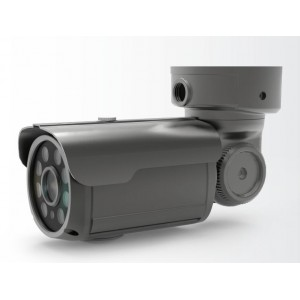 4.2MP Outdoor IR Bullet IP Camera Motorized or Vari Focal Lens Onvif POE IP68 Outdoor Water Proof