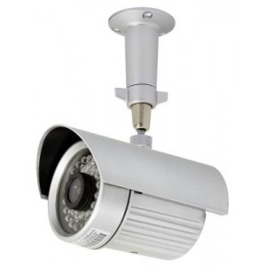 Eyemax IR 2335 Night-Vision Outdoor Bullet Camera 35 IR 80FT, 4 or 6mm Lens