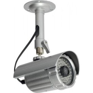 Eyemax IR 2356 Night-Vision Outdoor Bullet Camera: 56 IR 120FT, 6mm Lens