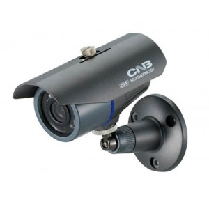 CNB B1000N Bullet IR Camera 380TVL Sony HAD 4.3mm Wheather Proof Housing 12LEDs 12V DC