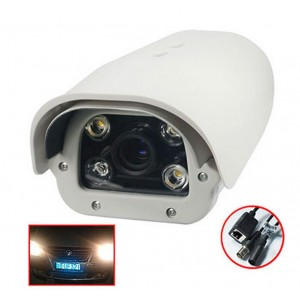 Special License Plate Recognition Camera 2.1MP 1080P Strong compatibility 2.8-12mm