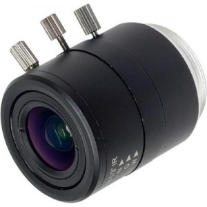 Mega Pixel 2.8~12mm Manual-Iris Varifocal Lens with IR Correction