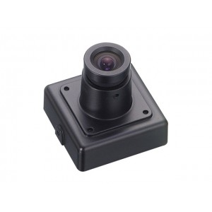 KTnC KPC-VSN700NH Color Super Miniature Camera - 550 TVL, 0.05 Lux, 12V DC, 30x30mm