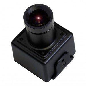KTnC KPC-E23 Super Miniature Camera 750TVL Color High Resolution 960H 23mm x 23mm OSD